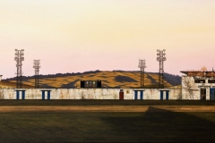 The Football Ground (90 x 75cm)
